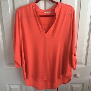 Lush Tops - Lush top in coral